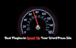 Best Plugins To Speed Up Your Site