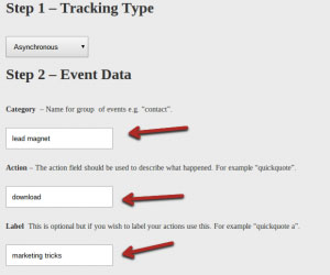 Google Analytics Event Tracking Module