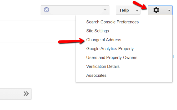 Using Change Of Address In Google Search Console