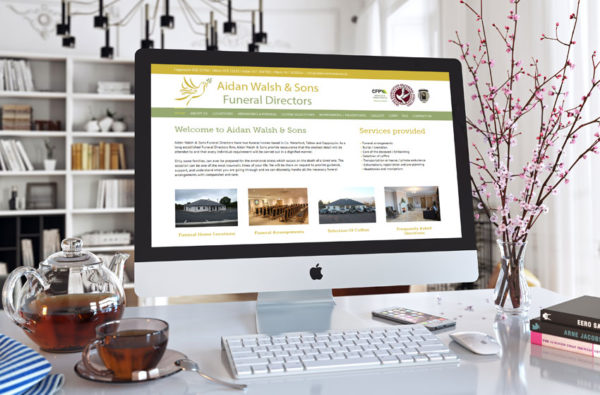 Aidan Walsh & Sons Website