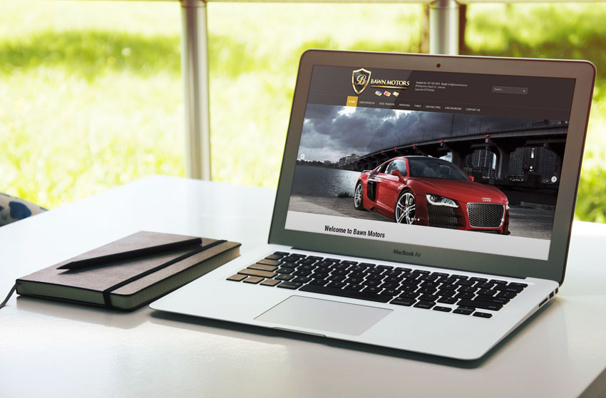 Bawn Motors Website