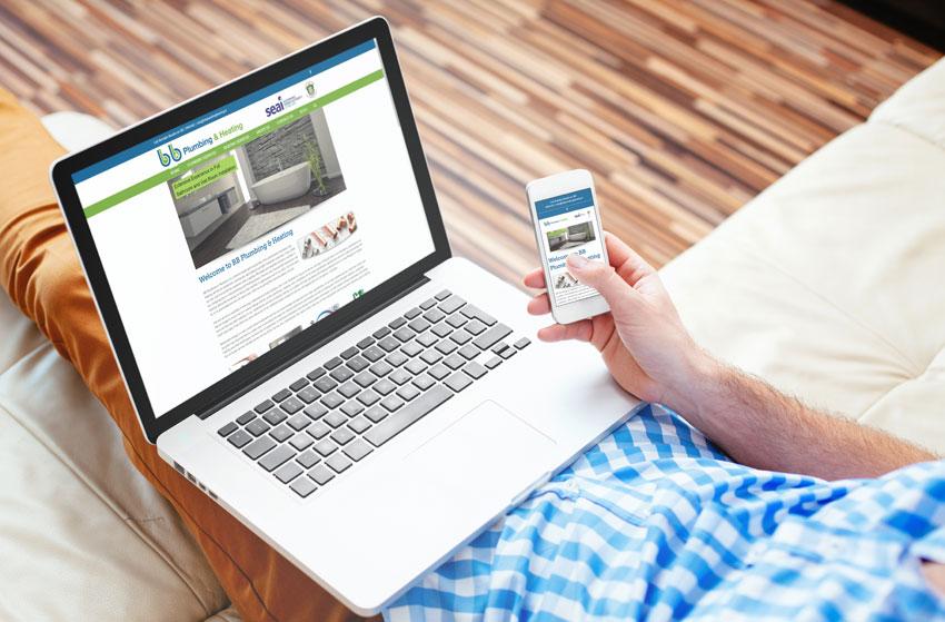 BB Plumbing & Heating Website
