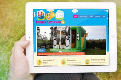 Bouncy Castle Man Website