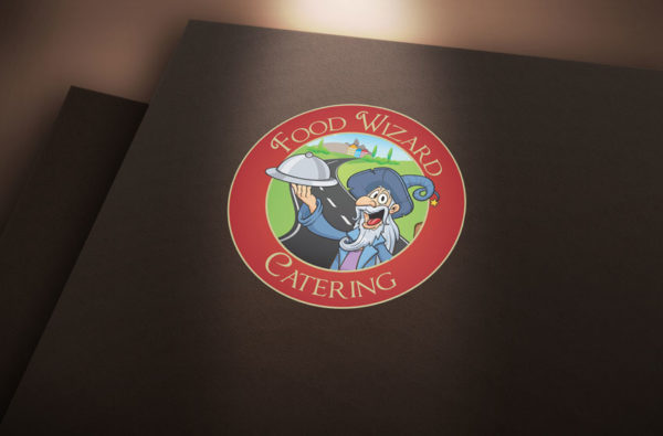 Food Wizard Catering Logo