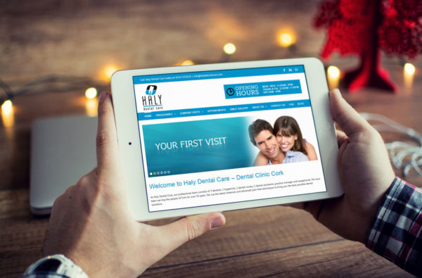 Haly Dental Care Website