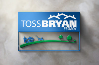 Toss Bryan Lawnmowers Logo