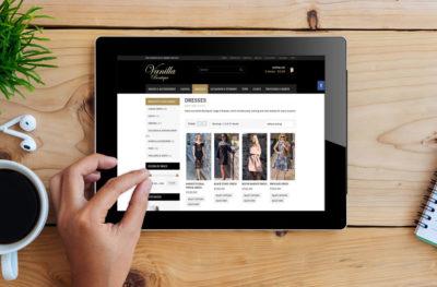 Vanilla Boutique Website