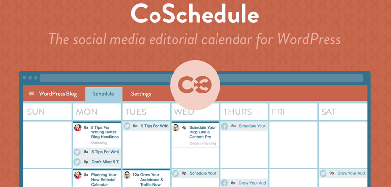 CoSchedule WordPress Editorial Calendar Plugin
