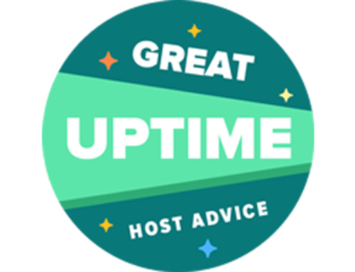 Baldwin Digital Receive HostAdvice Uptime Award