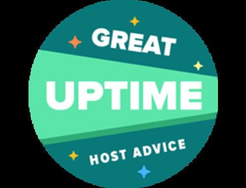 Baldwin Digital Receive HostAdvice Uptime Award